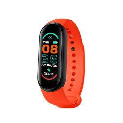 Ρολόι Fitness Tracker με Πιεσόμετρο και Μετρητή Καρδιακών Παλμών Smart Band M6 Χρώματος Κόκκινο SPM M6-MAGN-Red
