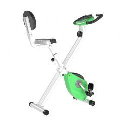 Αναδιπλούμενο Μαγνητικό Ποδήλατο Γυμναστικής Χρώματος Πράσινο HOMCOM A90-192GN