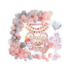 Σετ Διακόσμησης Baby Shower για Κορίτσι It's a Girl SPM DYN-5059059089936