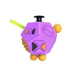 Fidget Cube Anti Stress με 12 Πλευρές Χρώματος Ροζ SPM DYN-5059059040623