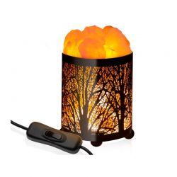 Επιτραπέζιο Φωτιστικό από Αλάτι Ιμαλαΐων Forest Edition GloBrite DB6026