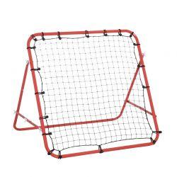 Εστία Ποδοσφαίρου με Δίχτυ Επαναφοράς Μπαλών 80 x 96 x 96 cm HOMCOM A62-012