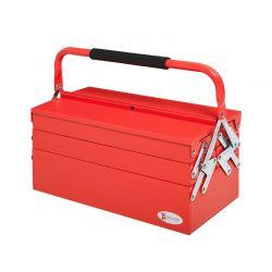 Μεταλλική Εργαλειοθήκη 5 Θέσεων Χρώματος Κόκκινο DURHAND B20-079RD