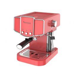 Καφετιέρα Espresso 19 Bar ZEspresso Χρώματος Κόκκινο TurboTronic TT-CM23 Red
