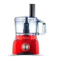 Επεξεργαστής Τροφίμων - Πολυμίξερ 800 W Χρώματος Κόκκινο Turbotronic TT-FP800 Red