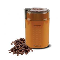 Ηλεκτρικός Μύλος Άλεσης Καφέ και Μπαχαρικών 200 W Χρώματος Πορτοκαλί ZEspresso Turbotronic TT-CG5 Orange