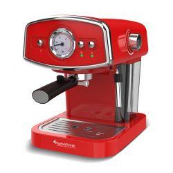 Καφετιέρα Espresso 19 Bar ZEspresso Χρώματος Κόκκινο TurboTronic TT-CM22 Red