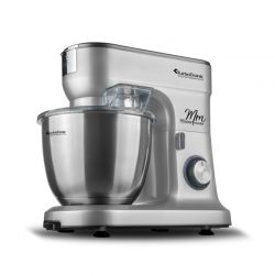 Κουζινομηχανή 1500 W Χρώματος Ασημί Turbotronic TT-015 Silver