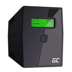 UPS με 2 Schuko Πρίζες 800 VA 480 W Green Cell UPS02