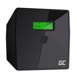 UPS με 2 Schuko Πρίζες και 2 IEC 1000 VA 600 W Green Cell UPS03