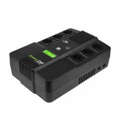 UPS με 6 Schuko Πρίζες 800 VA 480 W AiO Green Cell UPS07