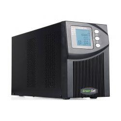 UPS On-Line MPII με 3 IEC Πρίζες 1000 VA 900 W Green Cell UPS10