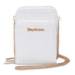 Γυναικεία Τσάντα Ώμου με Αλυσίδα Χρώματος Λευκό Juicy Couture 398 673JCT1380