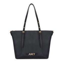 Γυναικεία Τσάντα Χειρός Χρώματος Μαύρο Juicy Couture 349 673JCT1238