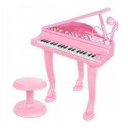 Παιδικό Πιάνο με Μικρόφωνο και Σκαμπό SPM 11405