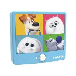 Φωτάκι Νυκτός με LED Φωτισμό Varta Secret Life Pets Moving Light 15642101421